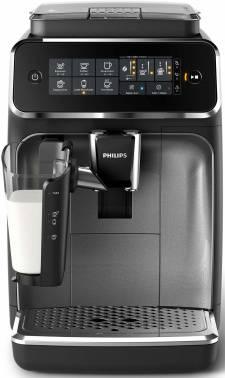 Кофемашина Philips EP3246/70 черный/серебристый