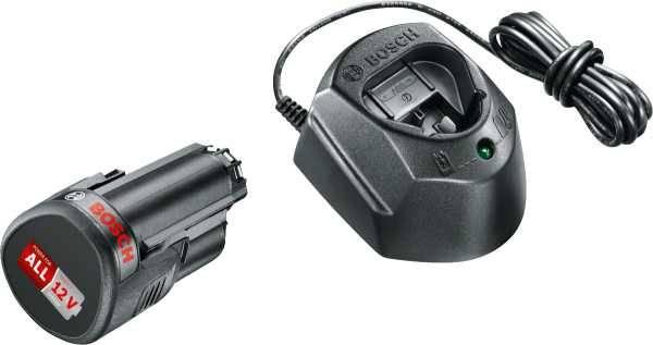 Батарея аккумуляторная Bosch GAL 1210 CV 12В 1.5Ач Li-Ion (З/У в компл.) (1600A01L3D) - фото 1