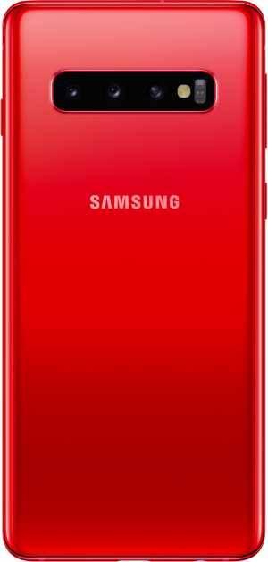 Смартфон Samsung Galaxy S10 SM-G973F 128ГБ гранат (SM-G973FZRDSER) - фото 2