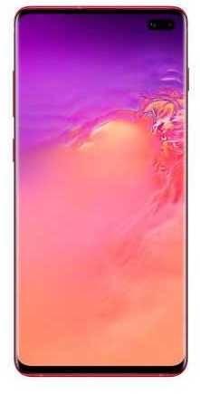 Смартфон Samsung Galaxy S10+ SM-G975F 128ГБ гранат (SM-G975FZRDSER) - фото 1