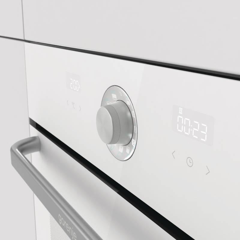 Духовой шкаф электрический Gorenje Simplicity BO76SYW белый - фото 5
