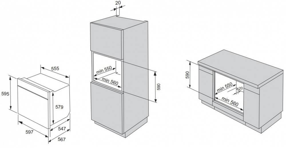 Духовой шкаф электрический Gorenje Simplicity BO76SYW белый - фото 7