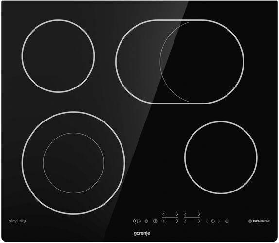 Варочная поверхность Gorenje ECT643SYB черный - фото 1