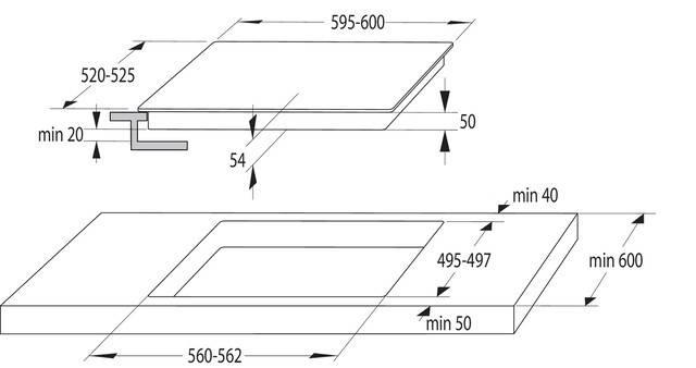 Индукционная варочная поверхность Gorenje IT643SYB черный - фото 5