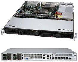 Корпус SuperMicro CSE-813MF2TQC-R804CB 2 x 800 Вт черный (CSE-813MF2TQC-R804CB)