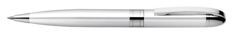 Ручка шариковая Zebra Fortia Vc Royal серебристый - фото 1