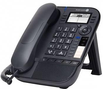 Системный телефон цифровой IP Alcatel-Lucent 8019S черный