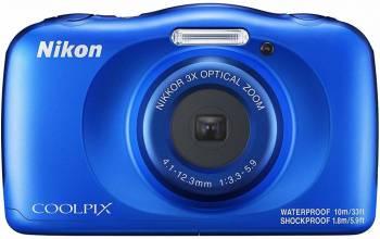 Фотоаппарат Nikon CoolPix W150 синий (VQA111K001)