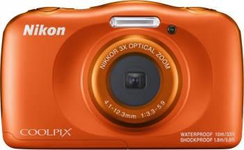 Фотоаппарат Nikon CoolPix W150 оранжевый (VQA112K001)