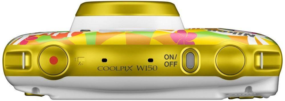 Фотоаппарат Nikon CoolPix W150 курорт (VQA114K001) - фото 2