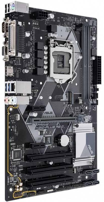 Материнская плата Asus PRIME H310-PLUS R2.0 Soc-1151v2 ATX - фото 2