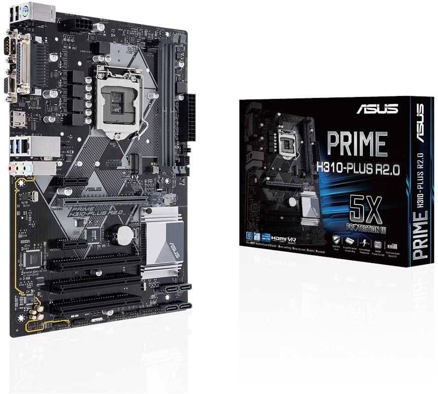 Материнская плата Asus PRIME H310-PLUS R2.0 Soc-1151v2 ATX - фото 4