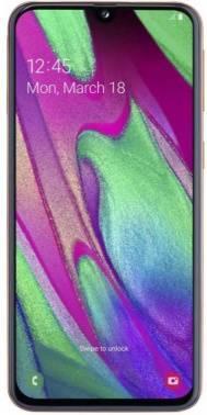 Смартфон Samsung Galaxy A40 SM-A405F 64ГБ красный (SM-A405FZRGSER)