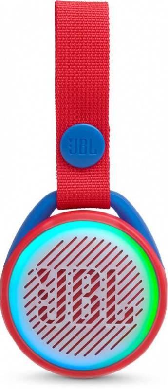 Колонка портативная JBL JR Pop красный (JBLJRPOPRED) - фото 1