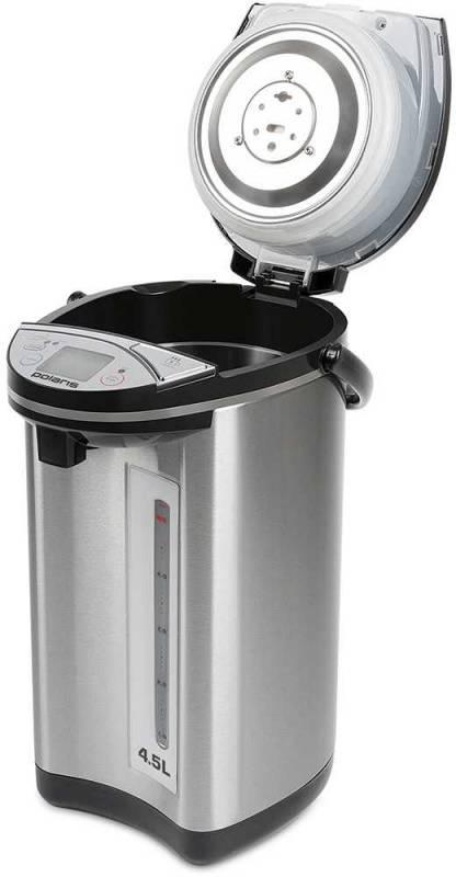 Термопот Polaris PWP 5011D черный/серебристый - фото 3