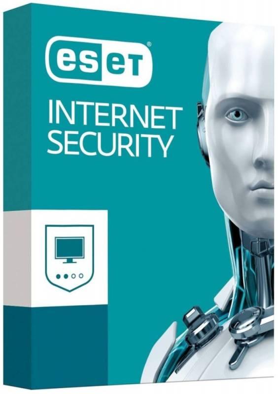 ПО Eset NOD32 Internet Security продление 3 устройства 1Y Box (NOD32-EIS-RN(BOX)-1-3) - фото 1