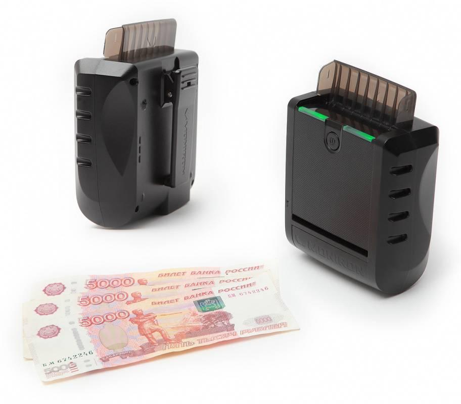 Детектор банкнот Moniron Mobile черный (T-06033) - фото 1