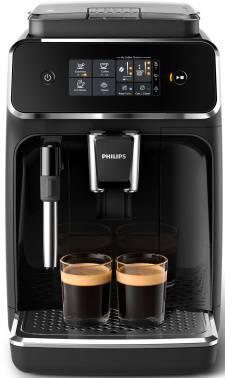 Кофемашина Philips EP2021/40 черный/серебристый