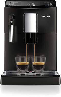 Кофемашина Philips EP3519/00 черный/серебристый