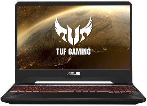"Ноутбук 15.6"" Asus TUF Gaming FX505GE-BQ150 темно-серый (90NR00S1-M08640) - фото 1"