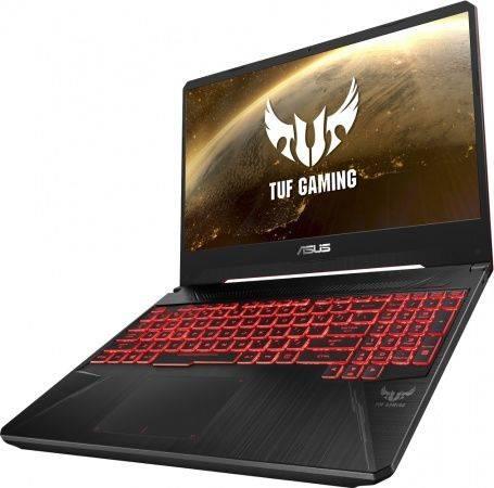 "Ноутбук 15.6"" Asus TUF Gaming FX505GE-BQ150 темно-серый (90NR00S1-M08640) - фото 3"