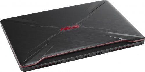 "Ноутбук 15.6"" Asus TUF Gaming FX505GE-BQ150 темно-серый (90NR00S1-M08640) - фото 6"