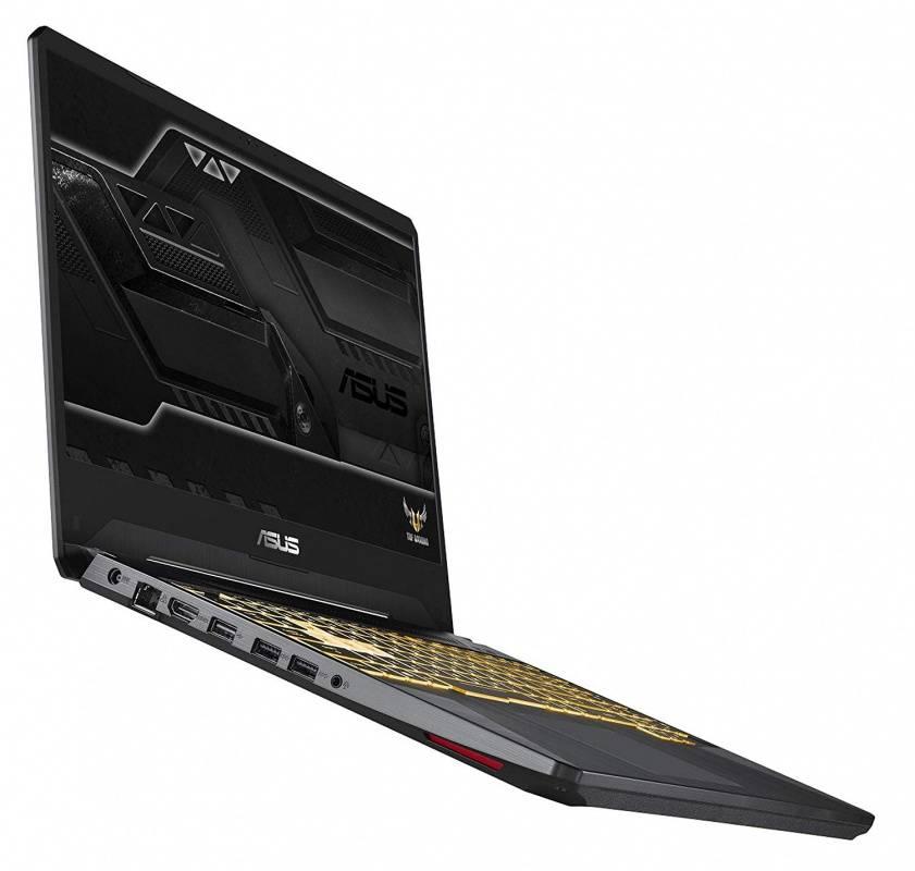 "Ноутбук 15.6"" Asus TUF Gaming FX505GE-BQ150 темно-серый (90NR00S1-M08640) - фото 10"