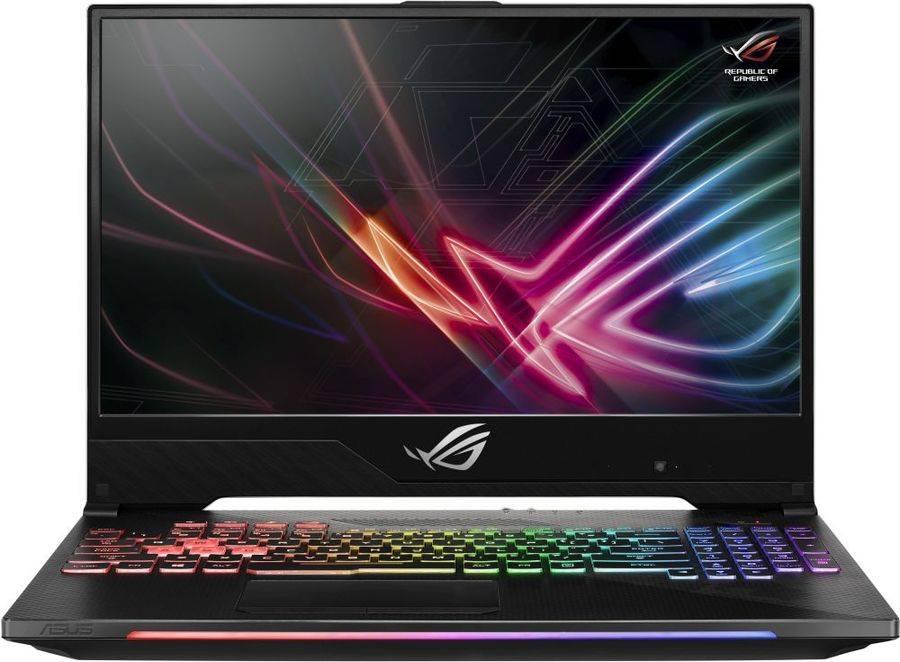 """Ноутбук 15.6"""" Asus ROG GL504GV-ES112 черный (90NR01X1-M02090) - фото 1"""