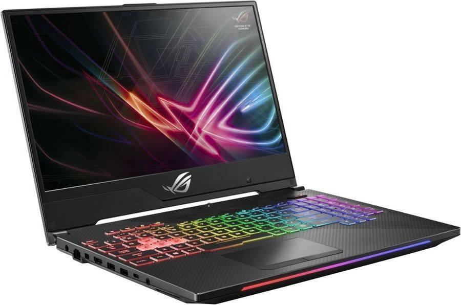 """Ноутбук 15.6"""" Asus ROG GL504GV-ES112T черный (90NR01X1-M02100) - фото 2"""