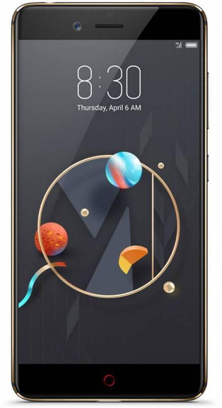 Смартфон Nubia Z17 Mini 128ГБ черный/золотистый (Z17 MINI) - фото 1