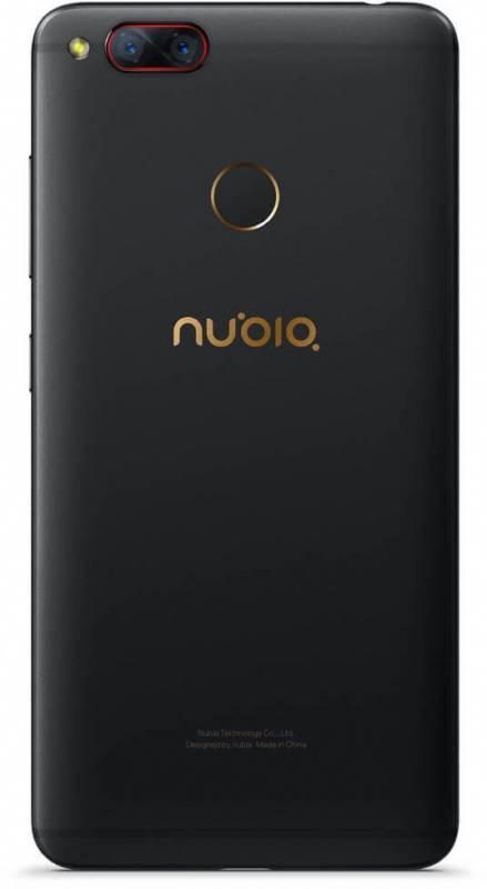 Смартфон Nubia Z17 Mini 128ГБ черный/золотистый (Z17 MINI) - фото 2