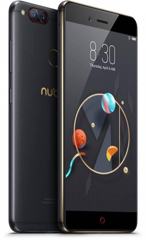 Смартфон Nubia Z17 Mini 128ГБ черный/золотистый (Z17 MINI) - фото 5