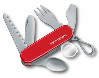 Брелок нож Victorinox Pocket Knife Toy красный/серый (9.6092.1)