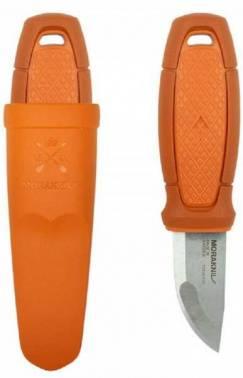 Нож с фиксированным клинком Mora Eldris оранжевый/красный (13499)
