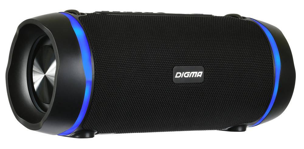 Колонка портативная Digma S-39 черный (SP3925B) - фото 1