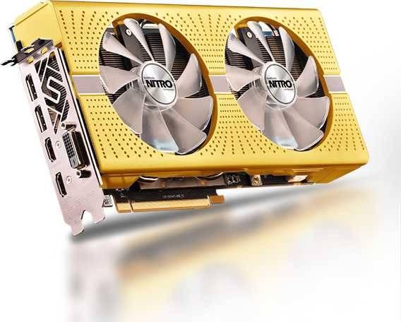 Видеокарта Sapphire NITRO+ RX 590 8G AMD 50TH EDITION 8192 МБ (11289-07-20G) - фото 2
