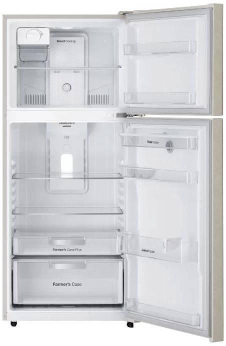 Холодильник Daewoo FGK51CCG бежевый - фото 2