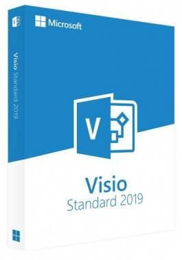 Офисное приложение Microsoft Visio Standard 2019 SP1 Rus DVD (d86-05813)