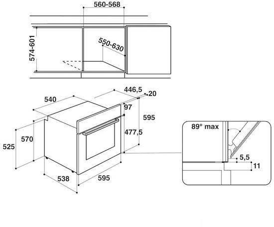 Духовой шкаф электрический Hotpoint-Ariston FA2 530 H WH HA белый (100136) - фото 2
