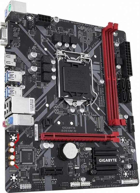 Материнская плата Gigabyte B365M H Soc-1151v2 mATX - фото 2