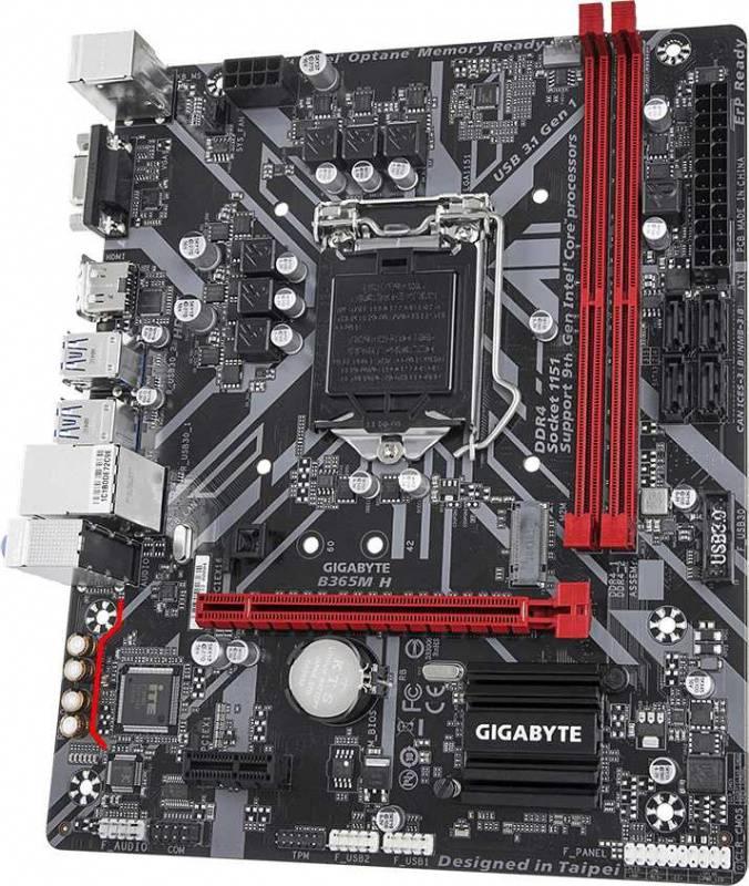 Материнская плата Gigabyte B365M H Soc-1151v2 mATX - фото 3