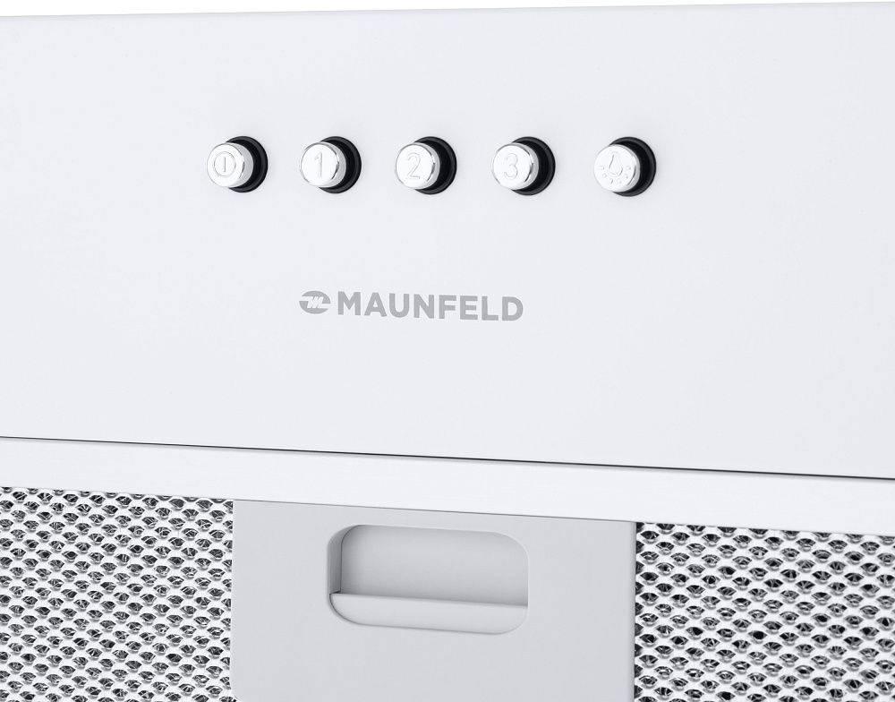 Встраиваемая вытяжка Maunfeld Crosby Singl 60 белый (УТ000009847) - фото 9