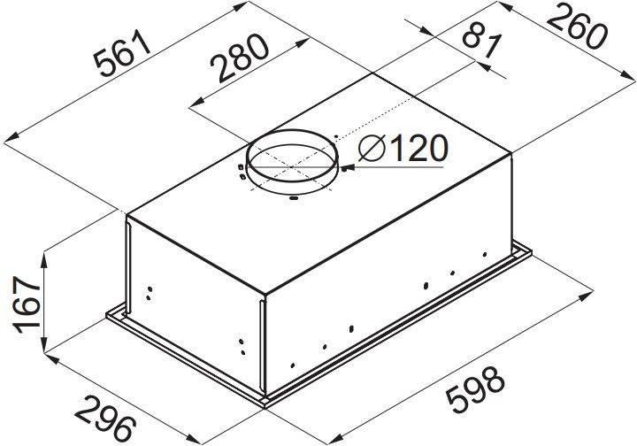 Встраиваемая вытяжка Maunfeld Crosby Singl 60 белый (УТ000009847) - фото 12