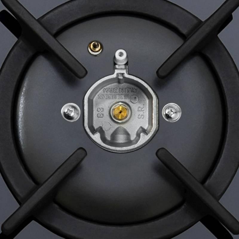 Газовая варочная поверхность Maunfeld EGHG.64.1CB/G черный (УТ000008329) - фото 11