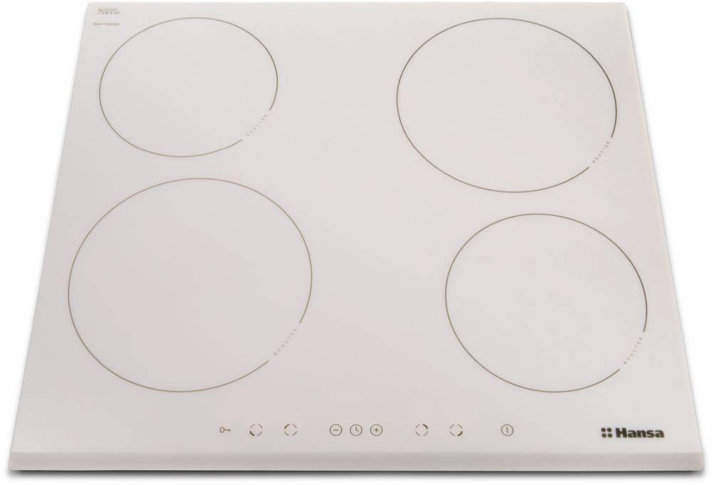 Индукционная варочная поверхность Hansa BHIW68077 белый - фото 1