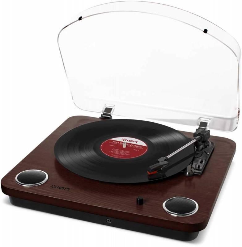 Виниловый проигрыватель ION Audio Max LP коричневый - фото 1