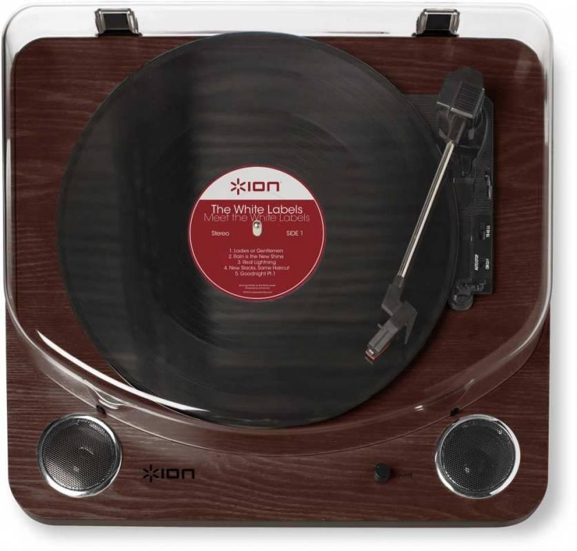 Виниловый проигрыватель ION Audio Max LP коричневый - фото 3