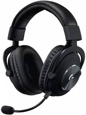 Наушники с микрофоном Logitech Pro New черный 2м мониторы (981-000812) (плохая упаковка)