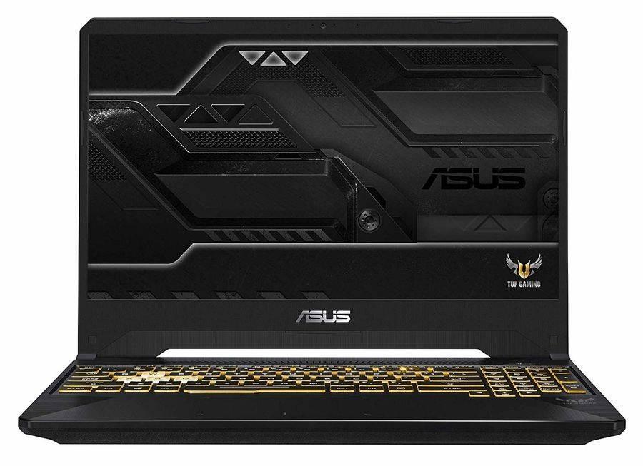 "Ноутбук 15.6"" Asus TUF Gaming FX505GE-BQ412 темно-серый (90NR00S1-M08610) - фото 1"