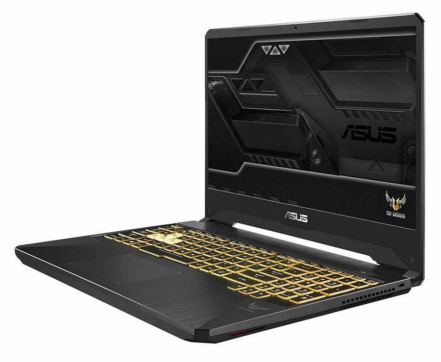 "Ноутбук 15.6"" Asus TUF Gaming FX505GE-BQ412 темно-серый (90NR00S1-M08610) - фото 2"